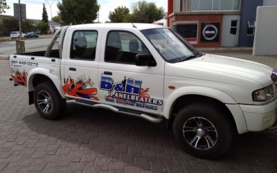 B and H Panelbeaters has branded their Vehicles. Did you see?
